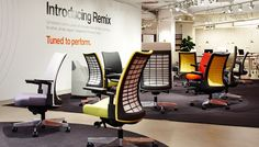 Introducing Remix, the Best of NeoCon Gold winner. #revolutionworkplace #design #Neocon