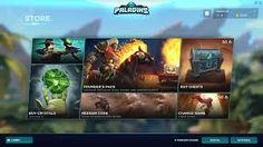 paladins game ui에 대한 이미지 검색결과