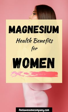 11 Health Benefits of Magnesium for Women Brain Nutrition, Brain Health, Nutrition Tips, Health And Nutrition, Health And Wellness, Health Tips, Women's Health, Mental Health, Magnesium Benefits