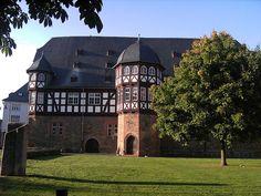 Giessen-Neues Schloss... Giessen, Germany...