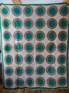Vintage Quilt, hand quilted.