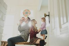 Newborn and Family photos at home