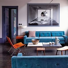 like the simplicity and undone details here. colours, modern, minimalist