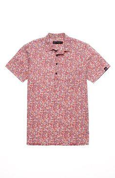 Tavik Guava Short Sleeve Woven Shirt #pacsun