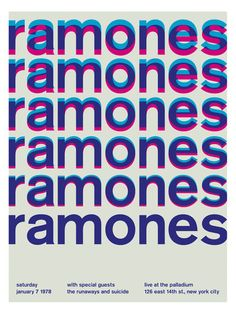 Ramones 1 (Poster Print) by Swissted at Gilt