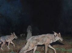 John Brosio –Night Hunt  (This is one of my favorite paintings.)