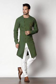 Designer Kurta Concepts by Puneetandnidhi Noida, India Mens Indian Wear, Mens Ethnic Wear, Indian Groom Wear, Indian Men Fashion, Mens Fashion Wear, Kurta Pajama Men, Kurta Men, Mens Sherwani, Wedding Kurta For Men