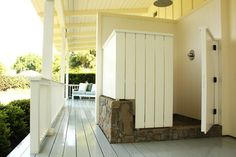 Ojai Guest House - farmhouse - porch - santa barbara - Shannon Malone