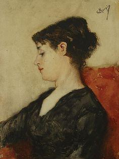 Constantin Meunier - Portrait Féminin