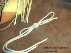 The real Fiador knot. I use this knot to make rope halters for my horses. It's hard to make at first, but worth the effort.