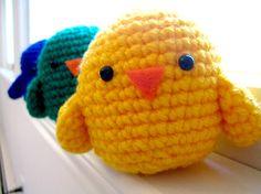 Amigurumi basic birds. A must for my bird fixated nephew.