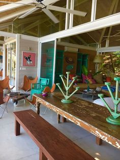 Check out this awesome listing on Airbnb: Casa Nido - Art-Filled Beach Penthouse - Apartments for Rent in Santa Teresa Beach