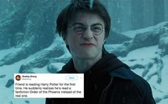 Idiot Muggle Reads Horny 'Harry Potter' Fanfic Thinking It Was The Real Deal