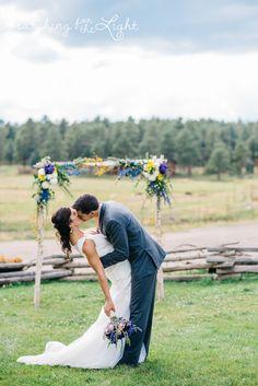 Evergreen Barn wedding