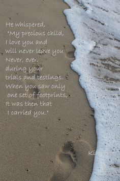 Foot Prints in the Sand by mariettastreasures on Etsy, $20.00