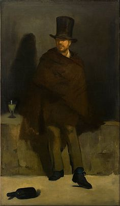 The Absinthe Drinker (Manet painting) - Wikipedia, the free encyclopedia