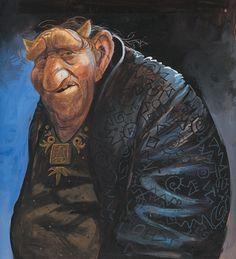 Trolls.Brian Pilkington.