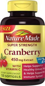 Nature Made Super Strength Cranberry Plus Vitamin C Supplement, 120 Count: Nature Made's Super strength Cranberry plus Vitamin C supports urinary tract health and immune health in two a day easy to swallow liquid soft gel supplement. Cranberry Pills, Cranberry Extract, Best Supplements, Beauty Routine Tips, Vitamin C Supplement, Health And Beauty, Whole Food Recipes, Skin Care, Vitamins