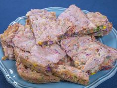 Cake Batter Funfetti Bars
