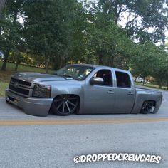 trucks and cars Bagged Trucks, Lowered Trucks, Mini Trucks, Gm Trucks, Chevy Trucks, Pickup Trucks, Chevy Luv, Dropped Trucks, Funny Car Memes