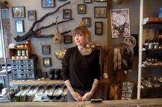 Owner Missy Rhysing inside her shop Ritualcravt in Sunnyside.