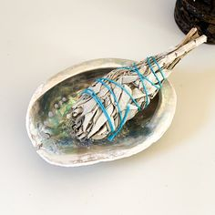 Sage & Abalone Smudging Set - Sage + Abalone Set