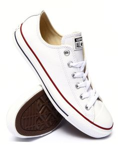 Find Chuck Taylor All Star Leather Low Men's Footwear from Converse & more at DrJays. on Drjays.com