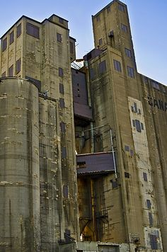 The Canada Malting Company silos at the foot of Bathurst St in Toronto. — in Toronto.