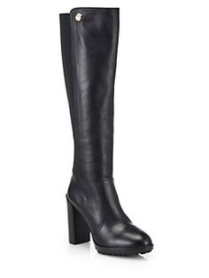 6c66ec1b93af Tory Burch - Sullivan Knee-High Leather Boots Ugg Australia