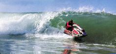 It's harder than it looks! Jet Ski, Bike Frame, Water Crafts, Underwater, Skiing, Boat, Bucket Lists, Fun, Stay Active