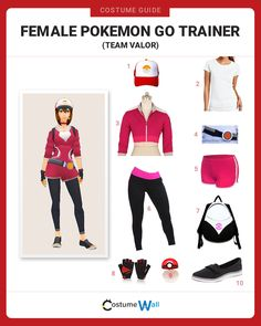 Comic Con Pokemon Trainer Costume Ideas Female Kid