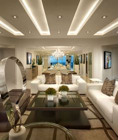 4 Glowing Clever Ideas: False Ceiling Design For Showroom false ceiling bedroom ideas.False Ceiling Bedroom With Fan false ceiling design lobby.False Ceiling Bedroom With Fan. Living Room Ceiling, Interior Design, Ceiling Design Modern, Modern Ceiling, House Ceiling Design, Hall And Living Room, Ceiling Design Living Room, Elegant Living Room, Home Ceiling