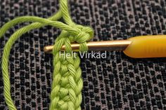 Dubbelvirkade grytlappar - Wastensson Design Drops Design, Crochet Stitches, Loom, Macrame, Sewing, Knitting, Gifts, Tricot, Embroidery Ideas