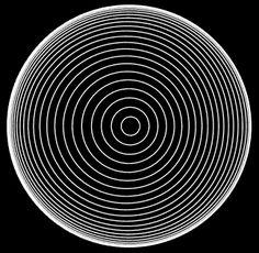 Imágenes en Movimiento estafa meneo, tambaleándose, aire Curvas de animación de Círculos concéntricos gif