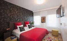 Slaapkamer Rood Zwart : Beste afbeeldingen van slaapkamer ideeen bedrooms bedroom