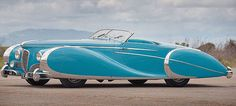 Diana Dors' 1949 Delahaye Type 175 Roadster, considered by some to be the most beautiful car in the world, sold at auction for three million dollars.