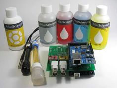 Iowa Aquaponics: Water Quality Data Acquisition System: pH, dissolved oxygen and water temperature.