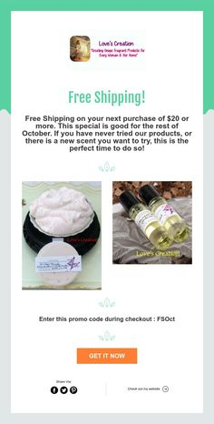 Free Shipping! New Fragrances, Home Free, Good Things, Free Shipping, Products, Gadget