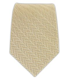 Wool Herringbone - Khaki/Cream (Skinny)