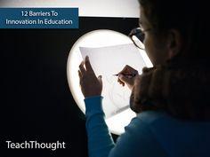 Drempels voor innovatie #onderwijs