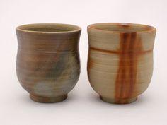 Bizen Green tea cup  http://www.japanesehandcraft.com