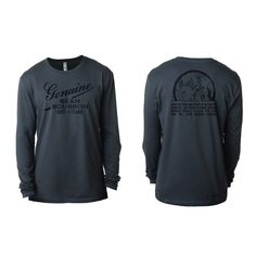 40dd025ad95a Jim Beam long sleeve barrel stamp t-shirt