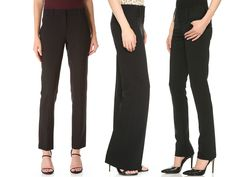 Rank & Style - Best Black Work Pants #rankandstyle