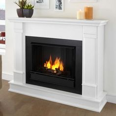 full size dual fuel ventless dual fuel fireplace propane