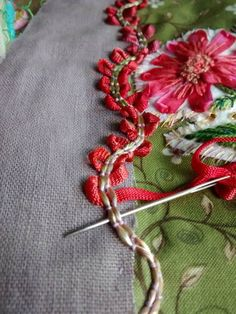 ♒ Enchanting Embroidery ♒ embroidered border