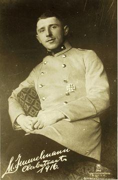 ✠ Max Immelmann (21 September 1890 – 18 June 1916)