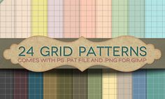 Grid paper patterns free