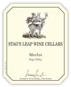 Merlot 2008 – Stag's Leap Wine Cellars: