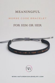 When words are not enough, personalize your words, phrase or something meaningful that would be cryptic for everyone else. Just write your words in the order and leave the rest to us! #meaningfulgifts #morsecodebracelet #unisexbracelet #beadedbracet Morse Code Bracelet, Valentines Day Gifts For Him, Meaningful Gifts, Enough Is Enough, Gender Neutral, Rest, Beaded Bracelets, Jewelry, Morse Code