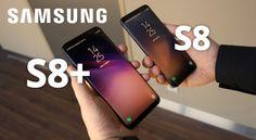 Samsung Galaxy S8 ve S8+ arasındaki farklar neler? S8 ve S8+ erkan boyutu nedir? Batarya kaç amper? Ebatlar ve ağırlık ne kadar? İnceleme videosu izle.